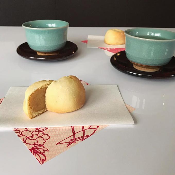 ミルク饅頭(基本のカステラ饅頭)