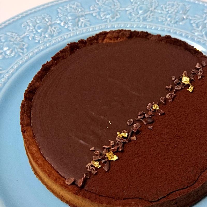 アールグレイの生チョコタルト