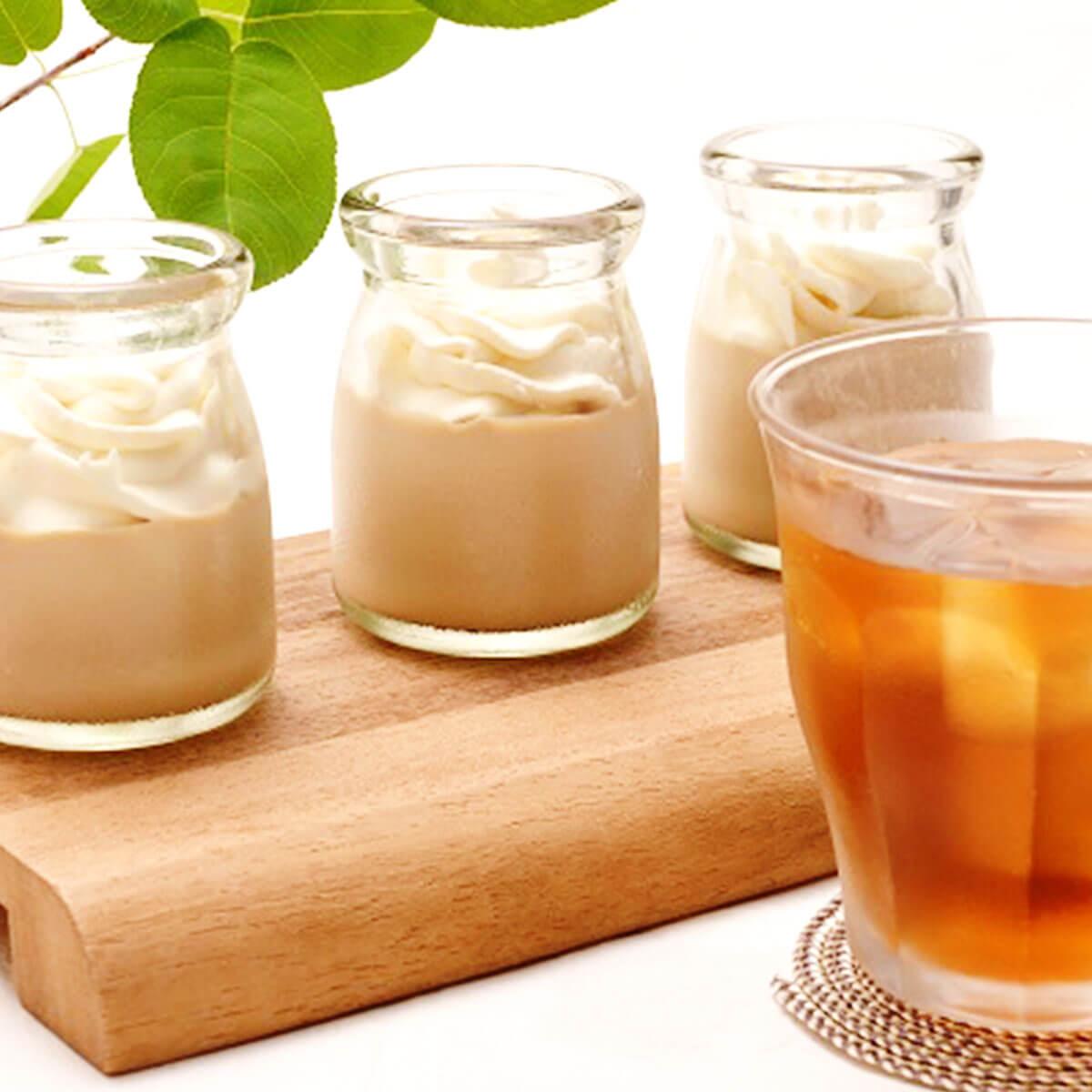 麦茶プリン