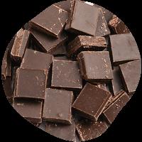 クーベルチュールチョコレートフレーク(エキストラビター)