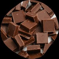 クーベルチュールチョコレートフレーク(ミルク)