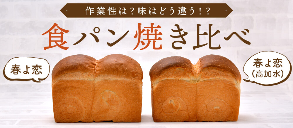 作業性は?味はどう違う?!食パン焼き比べ