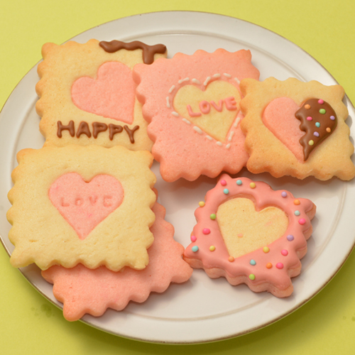 2色のメッセージクッキー