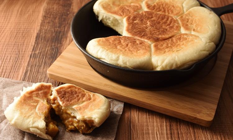 フライパンで作るカレーちぎりパン