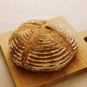 北海道産小麦で作る、カンパーニュ