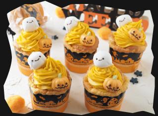 かぼちゃチーズクリームのとろ生シフォン