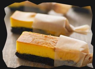 かぼちゃのスティックチーズケーキ