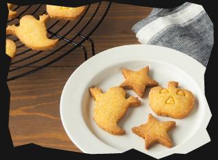 かぼちゃメープルクッキー