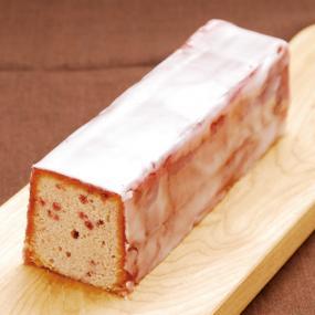 フランボワーズのしっとりパウンドケーキ
