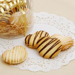 ラングドシャのチョコレートサンドクッキー