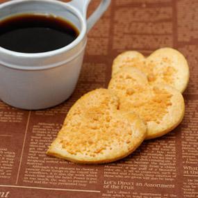 エダムチーズの塩味クッキー