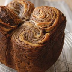 ホームベーカリーで作る渦巻きパン