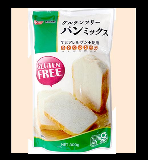 九州産玄米粉使用グルテンフリーパンミックス / 300g