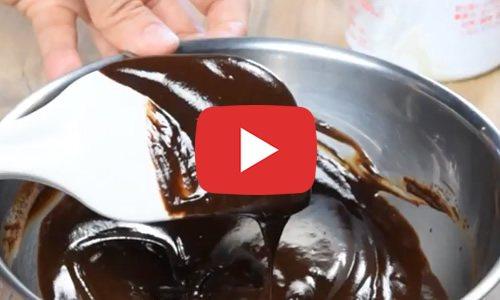 チョコレート 生クリーム分離