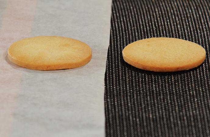 クッキー表面