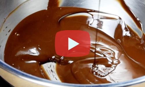 チョコレート 溶かす