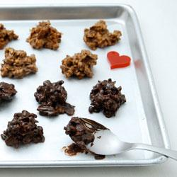 サクサク食感のクランチチョコは手作り